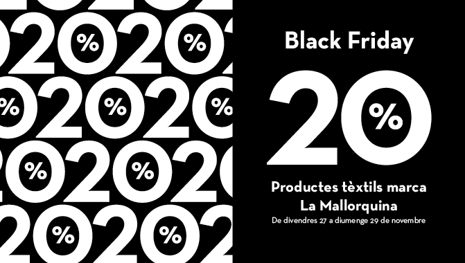 Prepara't pel Black Friday | Blog La Mallorquina | Agenda
